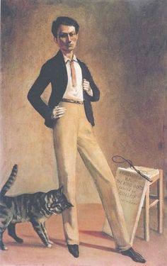 Balthus, Der König der Katzen, 1935, Öl auf Leinwand, 71 x 48 cm, Musée Jenisch, Vevey, Fondation Balthus © Foto: MONDADORI PORTFOLIO/Bridgeman Images (Photo Lefevre Fine Art Ltd., London) © Balthus 2016
