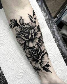 Die 480 Besten Bilder Von Blumen Tattoos In 2019 Awesome Tattoos