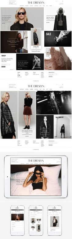 the dreslyn, nice main content app separation