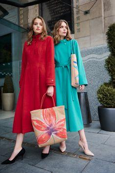 Cashmere Coat, Green Silk, Black Ribbon, Straight Cut, Wool Coat, Silk Top, Coats For Women, Peppermint, Clarity