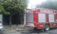 NONATO NOTÍCIAS: Incêndio destrói  cozinha  e quarto de casa