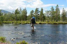 In Femundsmarka National Park, Norway