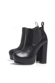 Platform Ankle Chunky Heel Boot! I quite like these because they are kind of like riding boots/Chelsea boots so they are quite cool