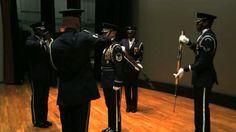 AF Honor Guard Drill Team Tetrad Video