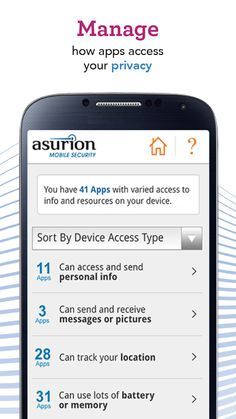 Protect your privacy with Asurion - Your Technology Protection Company. #ad #BecauseCrazyHappens