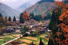 Shirakawago,Gokayama  World heritage of Japan