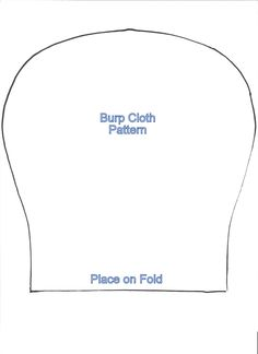 burp rag pattern free | pieces of flannel fabric cut out to match that of the video string ...