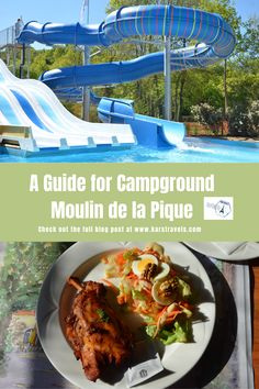 If you're looking for a good campsite in France, then look no further. Moulin de la Pique is a campsite in the Dordogne with lots to do. Europe Travel Guide, France Travel, Travel Guides, Travel Destinations, Rv Hacks, Road Trip Hacks, Road Trips, Best Places In Europe, Cool Places To Visit