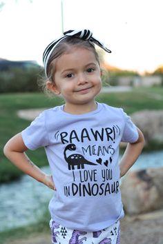 Dinosaur Tshirt Dinosaur Shirt Dinosaur T-shirt by LuLusLovelyTs Dinosaur Outfit, Dinosaur Shirt, Dinosaur Cake, Dinosaur Party, Toddler Fashion, Toddler Outfits, Boy Outfits, Vinyl Shirts, T Shirts