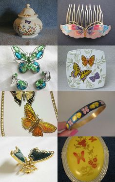 Graceful Butterflies by Hope on Etsy--Pinned with TreasuryPin.com