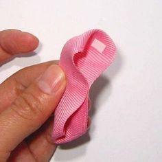 木の葉型リボンの作り方(5) Ribbon, Accessories, Tape, Band, Ribbon Hair Bows, Bows, Bow, Jewelry Accessories