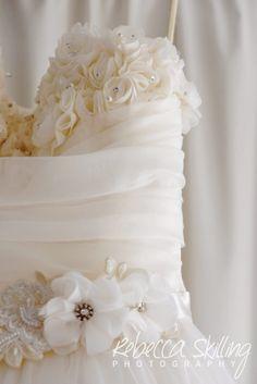 Gorgeous wedding dress waiting for its day. #weddingdress #details #weddingphotography #sunshinecoast