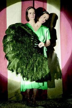 "Sarah Paulson in ""AHS Freak Show"""