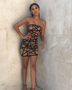 Classy Outfits, Sexy Outfits, Sexy Dresses, Cute Dresses, Casual Dresses, Fashion Dresses, Cute Outfits, Sheer Dress, Strapless Dress