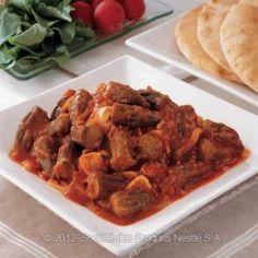Okra with Tomato Lebanese Recipe