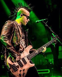 Johnny Christ- love his mohawk!
