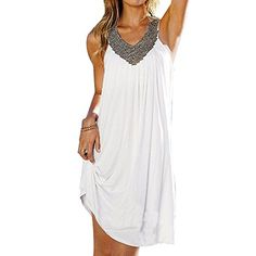 $16.88 Janecrafts Women's Sexy Summer Boho Long Beach Evening Party Dresses Sundress Janecrafts http://www.amazon.com/dp/B00ZO5ZRNG/ref=cm_sw_r_pi_dp_bcAJvb0QETJ89