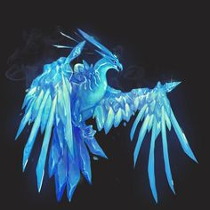 Anivia VU fan art my final finished piece of 2016 #leagueoflegends