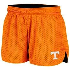 Tennessee Volunteers Ladies Orange Highlight Reversible Short