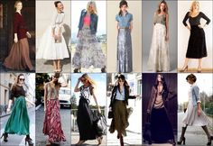 How to Wear Maxi Skirt 2013 Trend