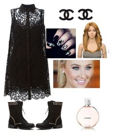 """chanel permer"" by bethanie-bl ❤ liked on Polyvore"