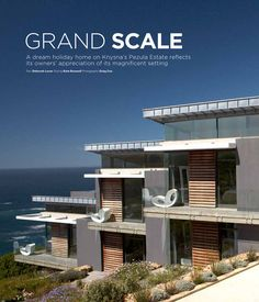 Large scale, contemporary holiday home - Pezula Estate, Knysna. By Architects Knysna, Amazing Architecture, Architects, Public, Contemporary, Scale, Houses, Holiday, Design