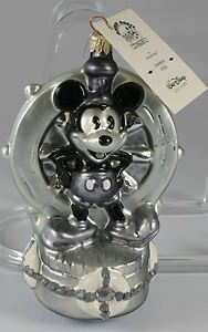 1998 Radko Ornament 761 of 1928 Mickey Mouse as Steamboat Willie Walt Disney | eBay