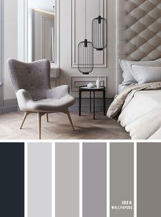 Grey Color for Bedroom. Grey Color for Bedroom. 11 Gorgeous Bedroom In Grey Hues Grey Color Schemes Grey Interior Color Schemes, Living Room Color Schemes, Living Room Colors, Living Room Grey, Colour Combinations Interior, Color Schemes For Bedrooms, Color Schemes With Gray, Apartment Color Schemes, Modern Color Schemes