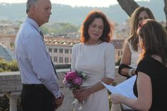 Wedding celebrant in Rome  Renewal of the vows ceremony
