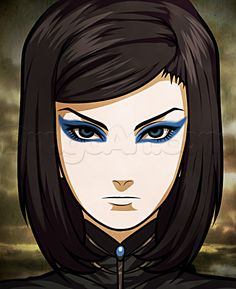 how to draw re l mayer from ergo proxy