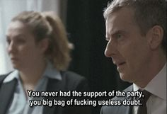 <b>Important lessons from the foul-mouthed star of <i>The Thick Of It</i> and <i>In The Loop</i>.</b> Warning: NSFW language ahead.