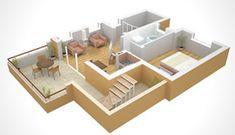1.4. Проектирование дома-мечты | ПЕРЕДЕЛКИ.рУПЕРЕДЕЛКИ.рУ Home And Garden, House Design, Model House, Architecture Student, Projects, Architecture, House Plans, Home Design Plans, Home Design