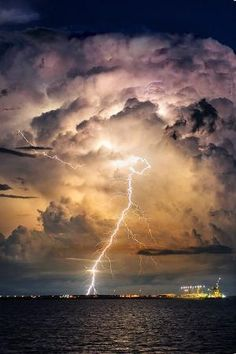 ✯ Evening Thunderstorm by rosemarie