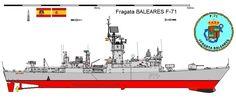 Fragata F-71 Baleares 1973