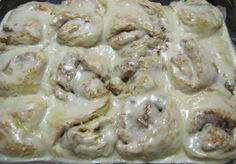 Natural and Free: Quick and Easy Glazed Cinnamon Rolls (Soy, Egg, Nut and Fish-Free, Can Be Milk and Wheat-Free)