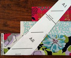 Feather quilt strip piecing tutorial