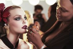 Exclusive: Watch Pat McGrath Give Jessica Stam Statement Lips and Answer All our Lipstick Questions - Fashionista