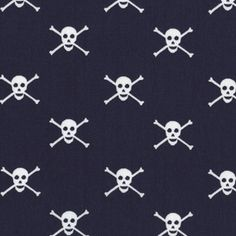 Jack and Lulu - Seaworthy - Jolly Rogers in Navy