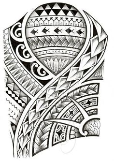 Polynesian 3/4 sleeve 01-A by dfmurcia on deviantART: