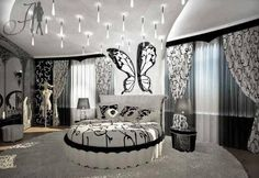 Beautiful Butterfly Bedroom' on Wish
