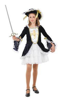 disfraces de mosquetera para niña