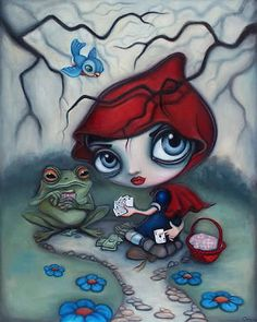 Little Red Riding Hood by Caia Koopman