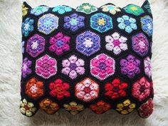 #africanflower #pillow #haken