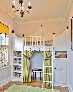 Dress and little girls bedroom up as a princess room. I wonder how many years they are usually in the princess phase for this to actually be worth the while. For all of the work, I would say they better like it for at least 3 years My New Room, My Room, Kids Room Design, Little Girl Rooms, Little Girls, Kid Spaces, Small Spaces, Girls Bedroom, Bedroom Ideas