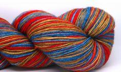 Self striping sock yarn HEY COWBOY by KirbywirbyYarns on Etsy