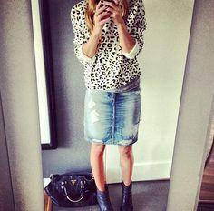 Michelle Moldinger - love her style