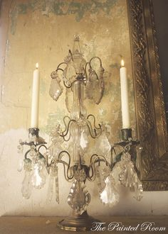 French candelabra - The Painted Room | Home Decor