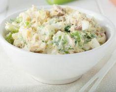 Salade de pommes de terre au tzatziki et thon : http://www.fourchette-et-bikini.fr/recettes/recettes-minceur/salade-de-pommes-de-terre-au-tzatziki-et-thon.html