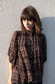 Morgan Carper blouse, Tenoversix.