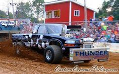 Thunder pulling truck